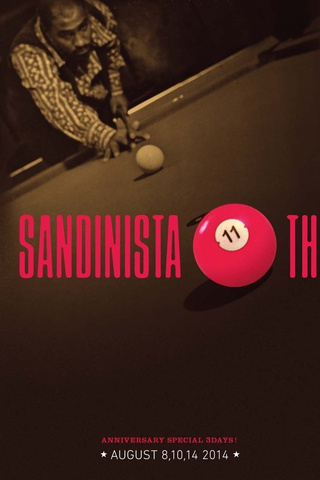 SANDINISTA! 11ht Anniversary Party