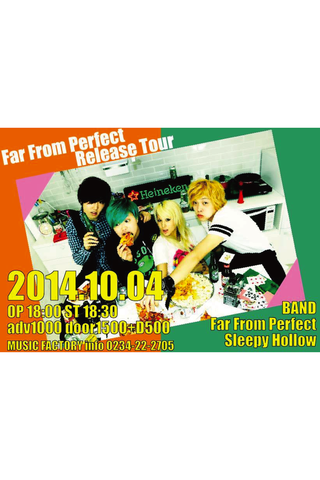 Far From Perfect レコ発