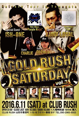 GOLD RUSH SATURDAY