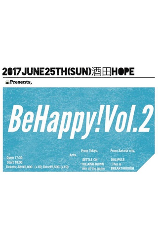 SETTLE ON Pre Be Happy Vol.2