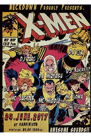 "NECKDOWN presents. ""X-MEN"" episode 3"