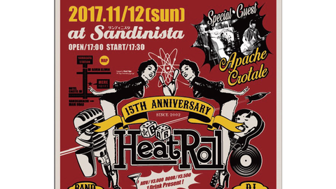 HEAT ROLL 15th Anniversary LIVE