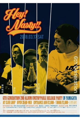 Hey!Nasty!! ~6th Generation 2nd Album 『UNSTOPPABLE』 release party in YAMAGATA~