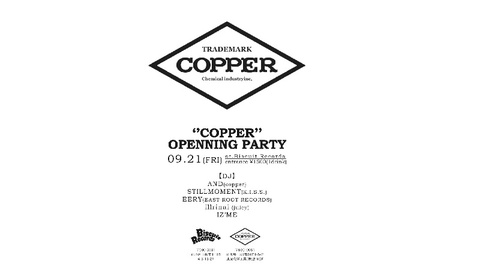 COPPER OPENNING PARTY