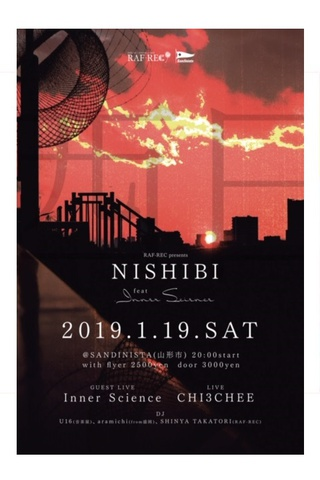 RAF-REC presents NISHIBI vol.4 feat.Inner Science